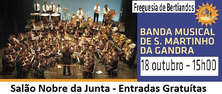 Concerto pela Banda de Música de São Martinho da Gandra