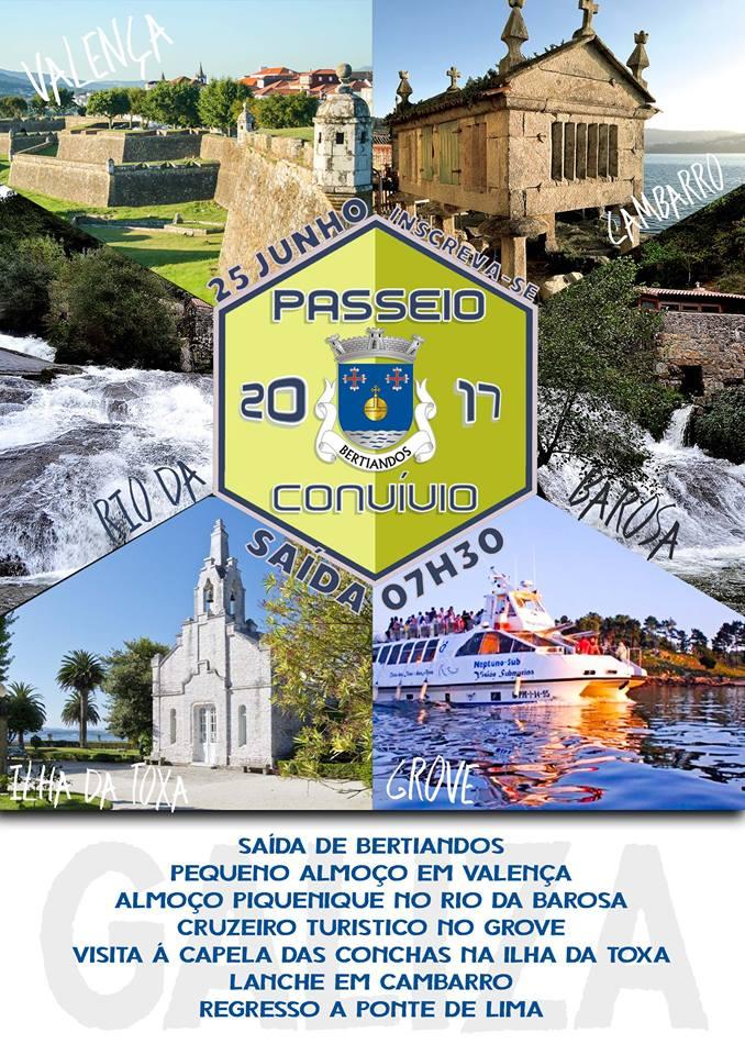 Passeio Convívio de Bertiandos 2017