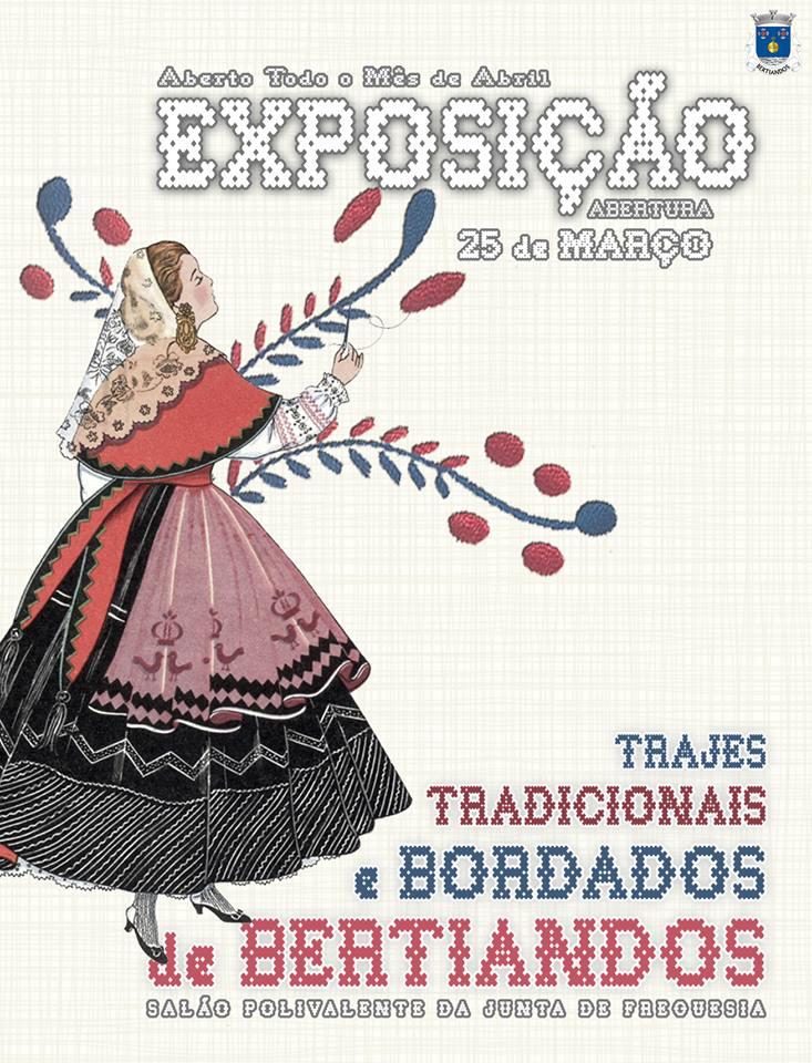 Exposição de Trajes e Bordados de Bertiandos.