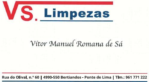 VS. Limpezas - Vitor Manuel Romana de Sá