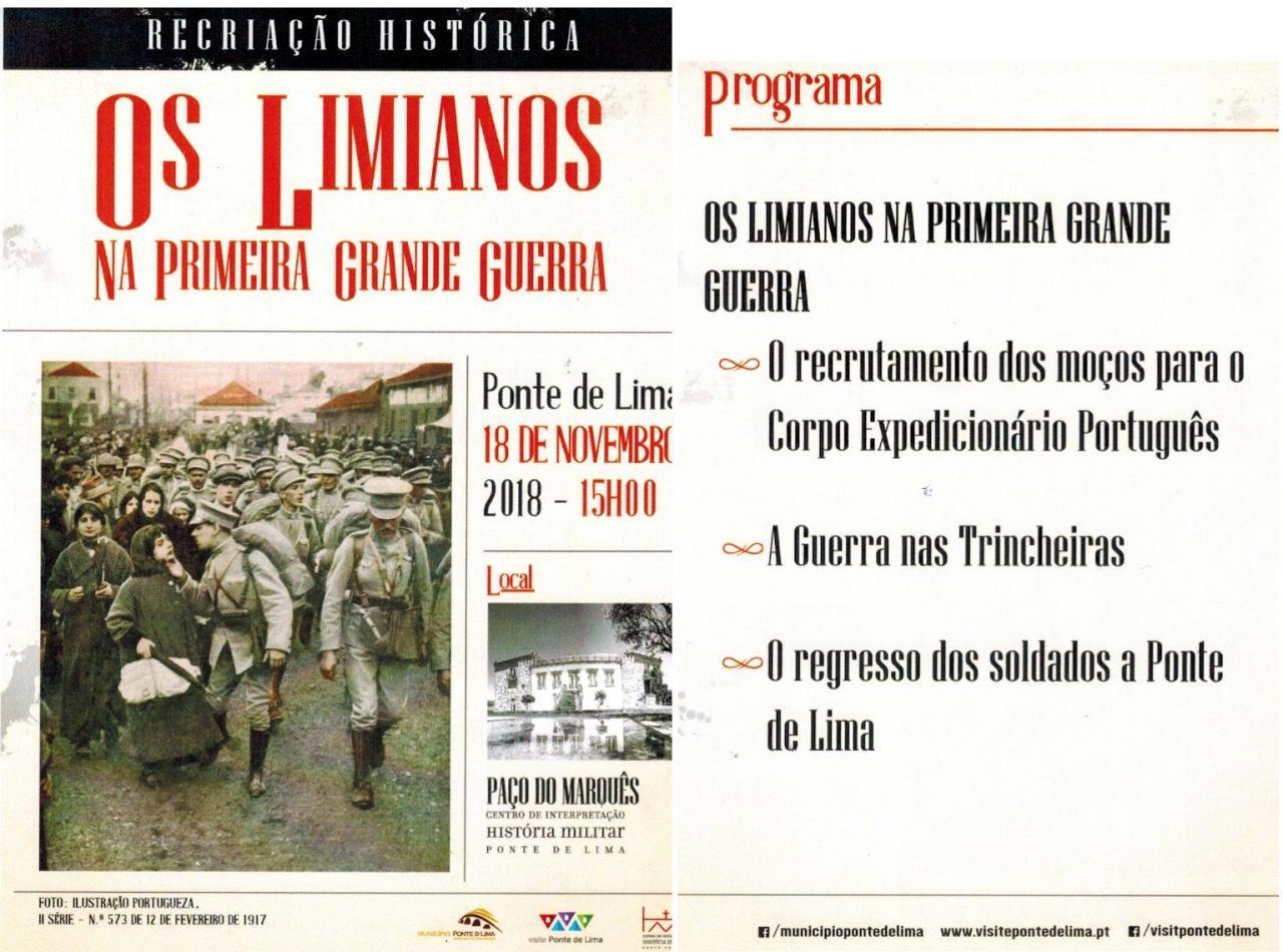 Os Limianos na Primeira Grande Guerra