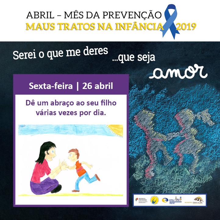 Mês da Prevenção dos Maus Tratos na Infância