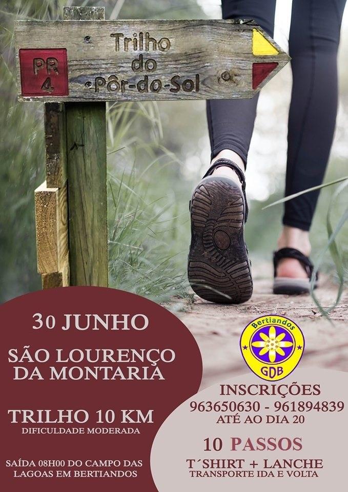 Caminhada / Trail pelo GD Bertiandos