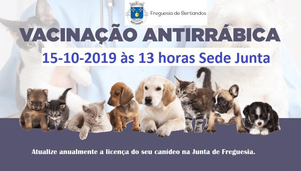 Vacinação Anti-Rábica 2019
