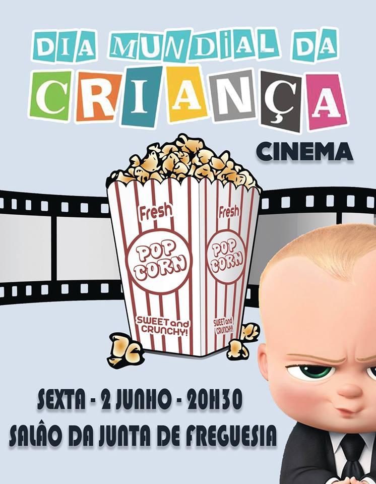 Cinema no Dia Mundial da Criança