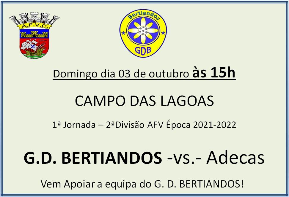 GD Bertiandos - Adecas