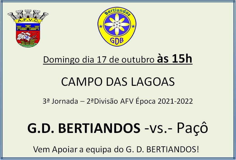 GD Bertiandos - Paçô