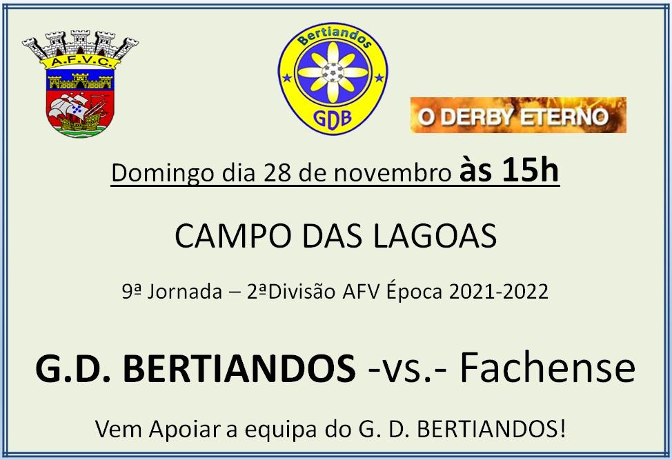 Derby Limiano - GD Bertiandos - Fachense