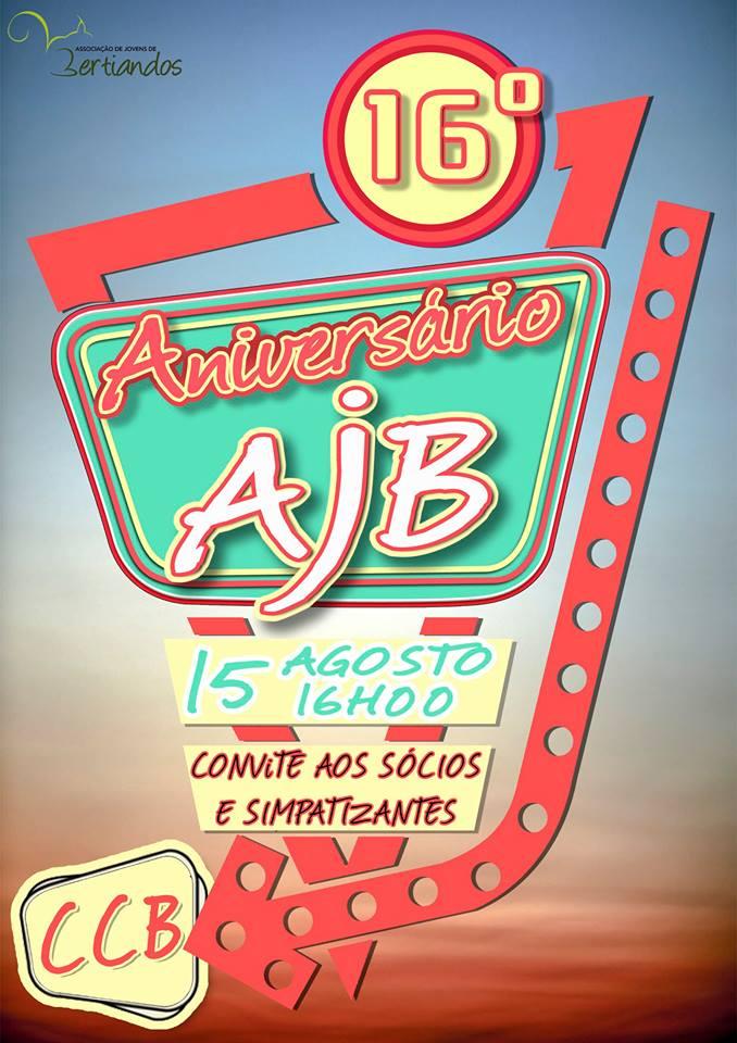 16º Aniversário Associação de Jovens de Bertiandos