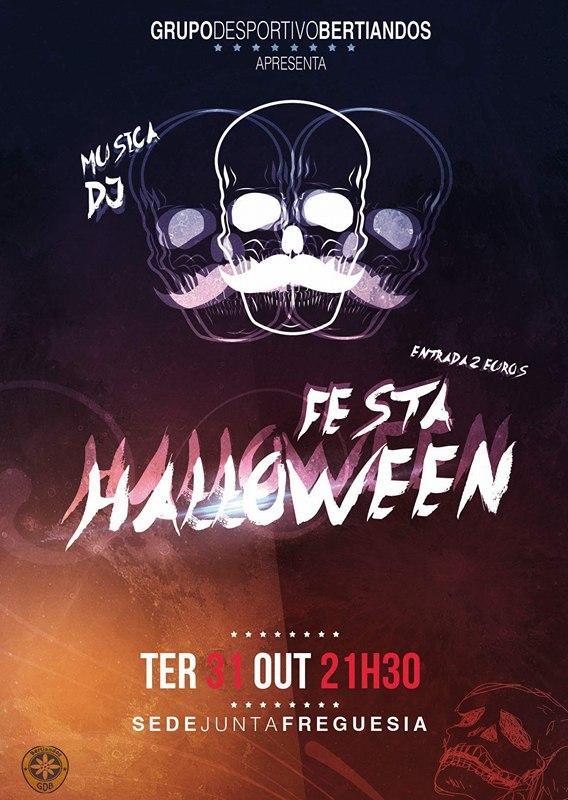 GD Bertiandos organiza o Halloween...