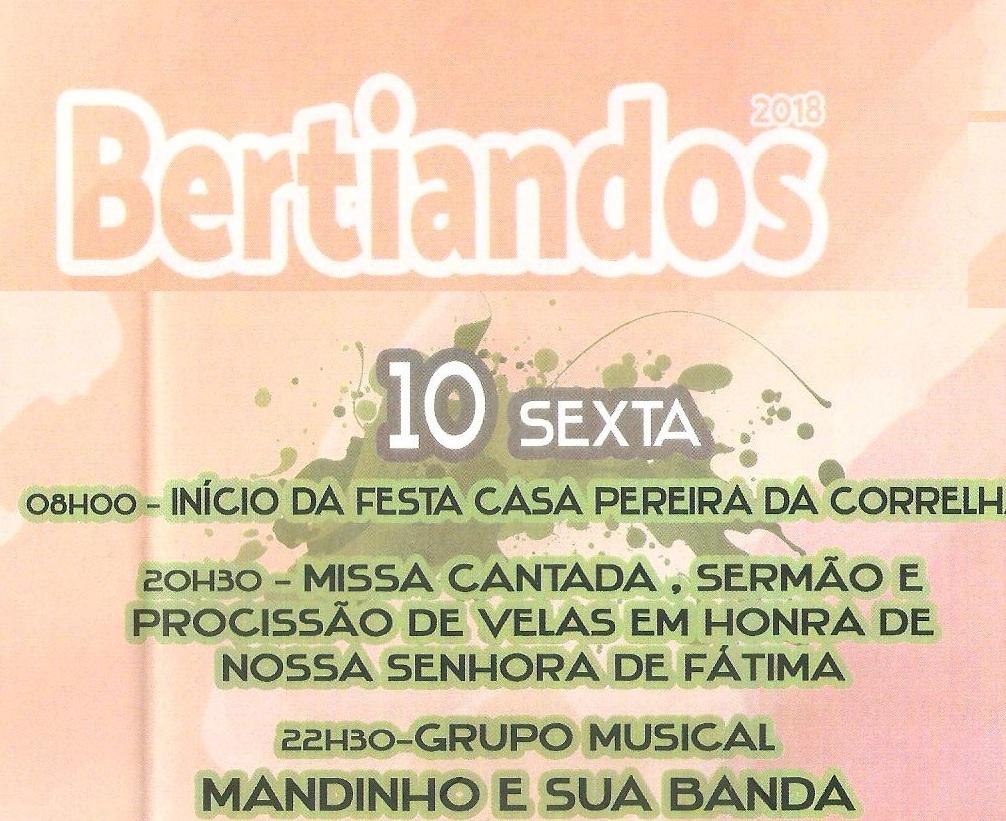 Festa de Bertiandos 2018 1º dia